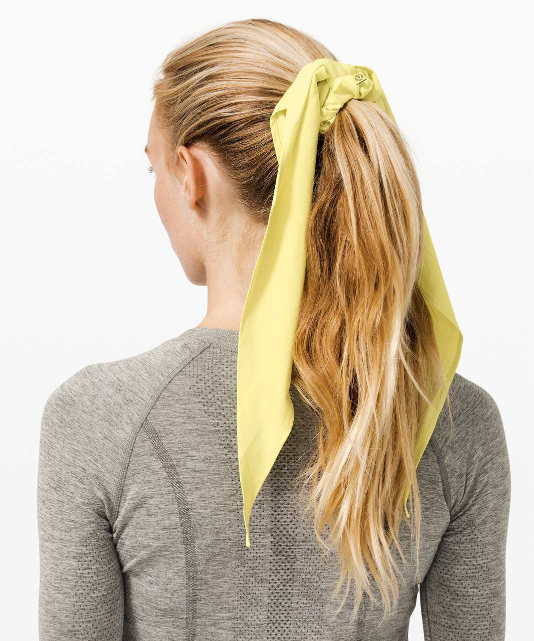 Lululemon Uplifting Scrunchie *Flow - Lemon Vibe
