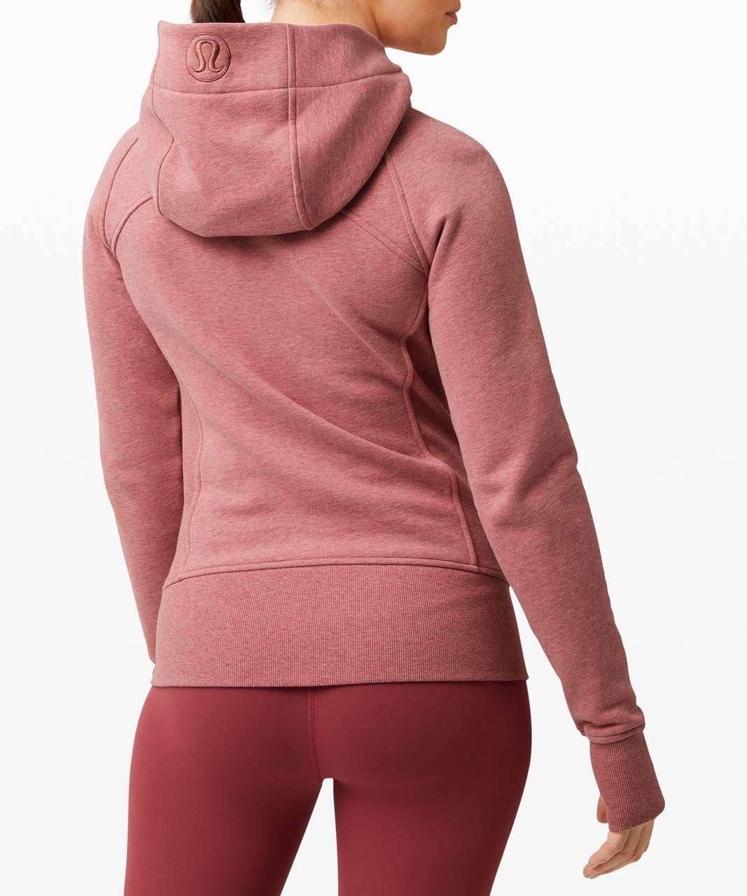 Lululemon Scuba Hoodie *Light Cotton Fleece - Heathered Cherry Tint