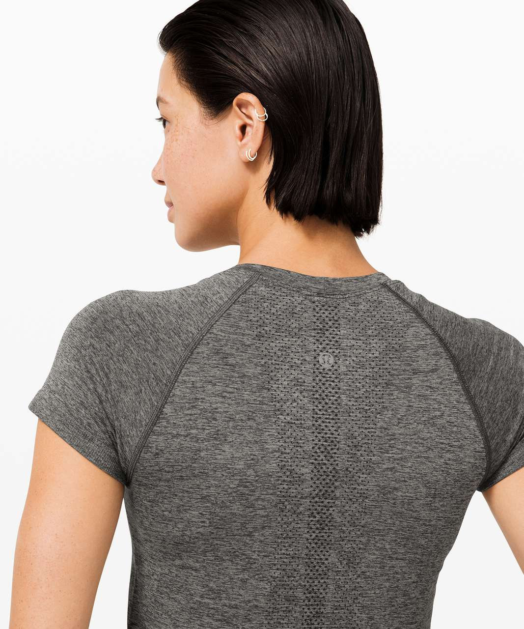 Lululemon Swiftly Tech Short Sleeve 2.0 *Race - Graphite Grey / Silver Drop