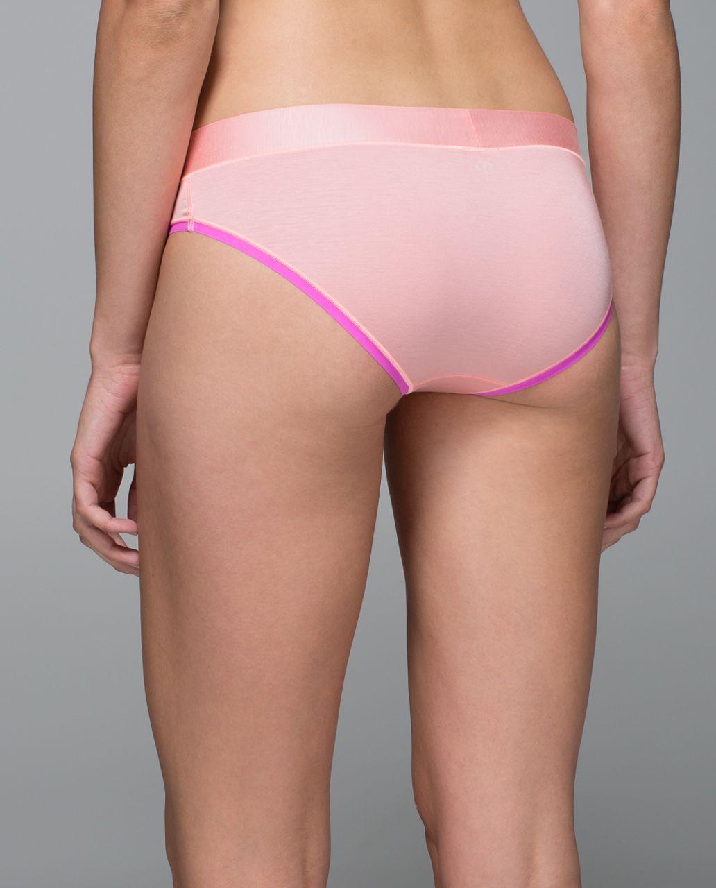 Lululemon Mula Bandhawear Bikini - Bleached Coral / Pow Pink Light
