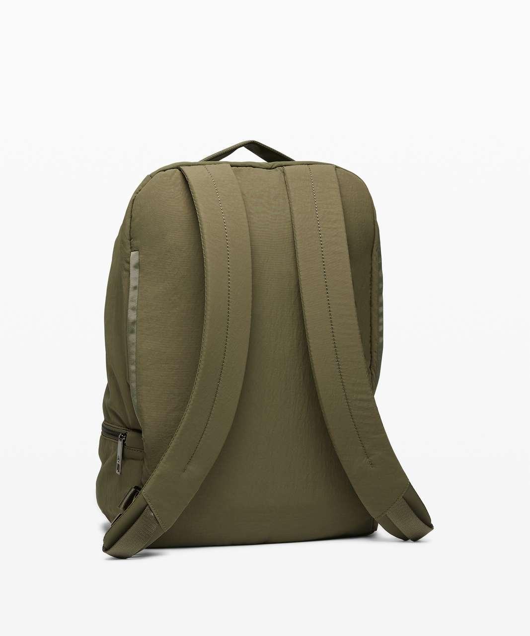 Lululemon City Adventurer Backpack *17L - Medium Olive / Lemon Vibe