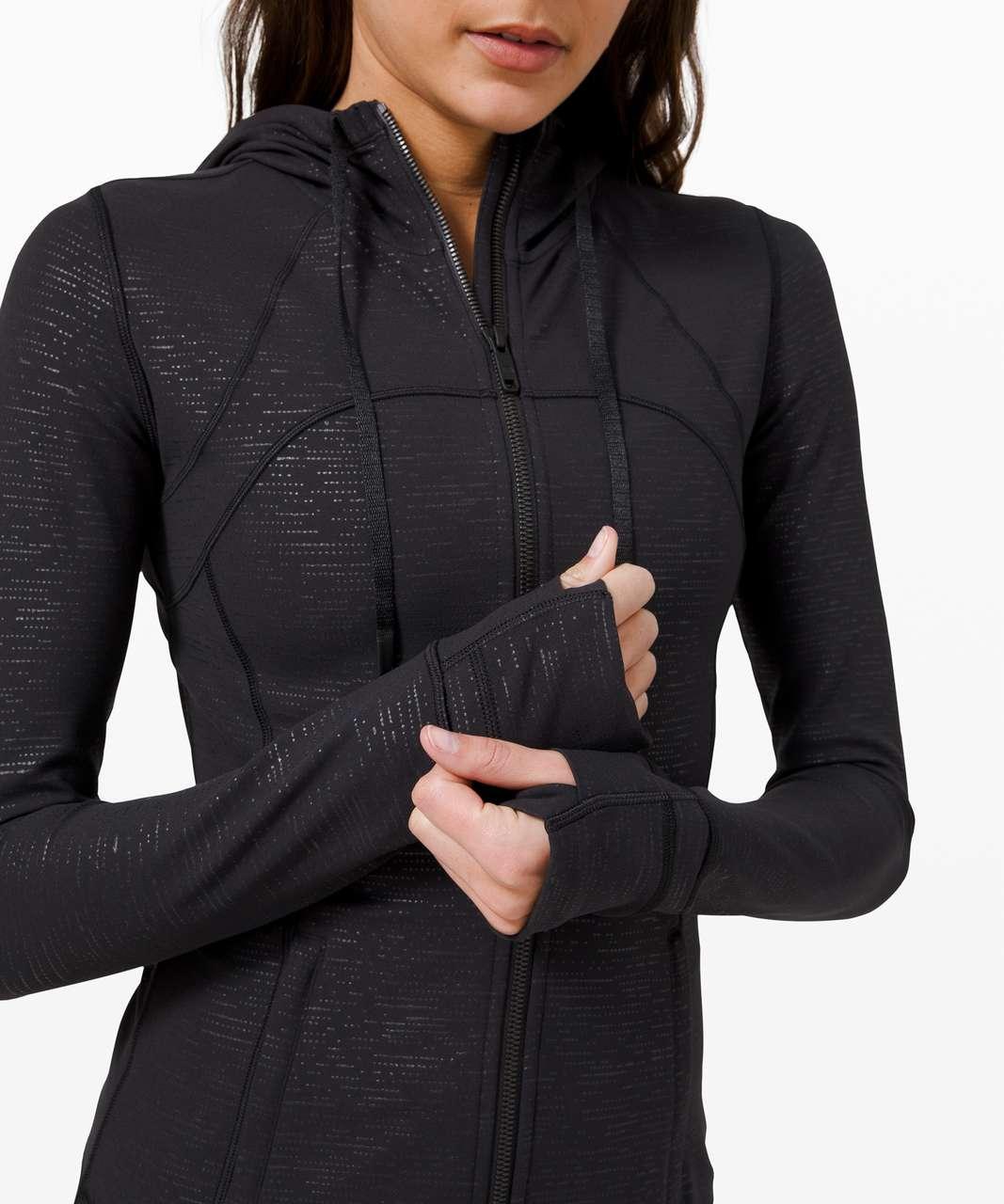 Lululemon Hooded Define Jacket *Nulu - Code Emboss Black