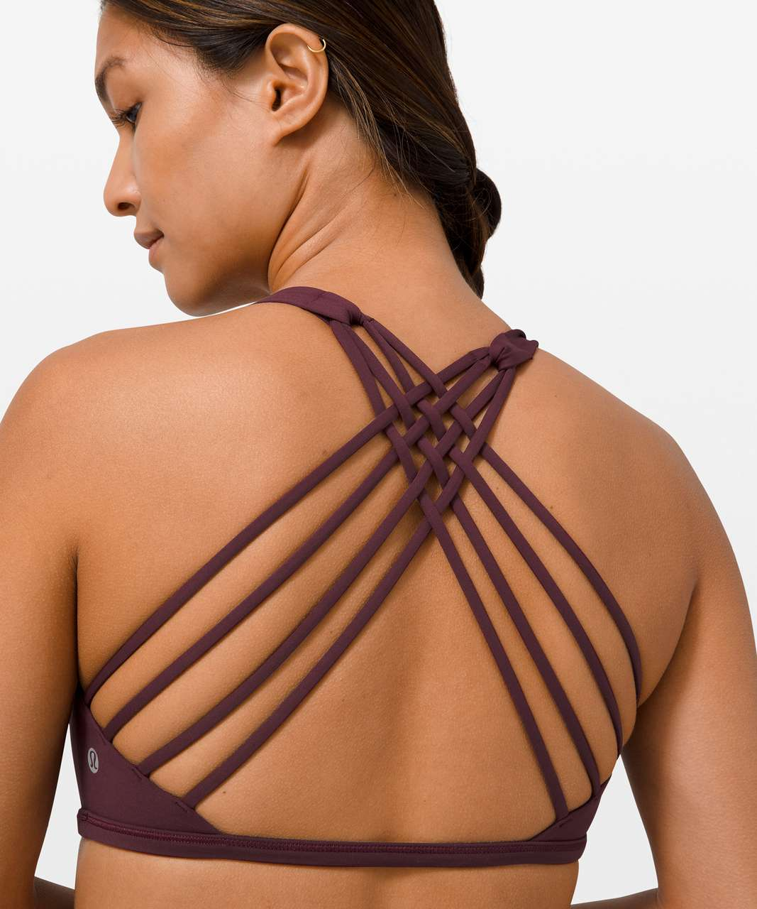 Lululemon Free To Be Bra Wild *Light Support, A/B Cup - Cassis