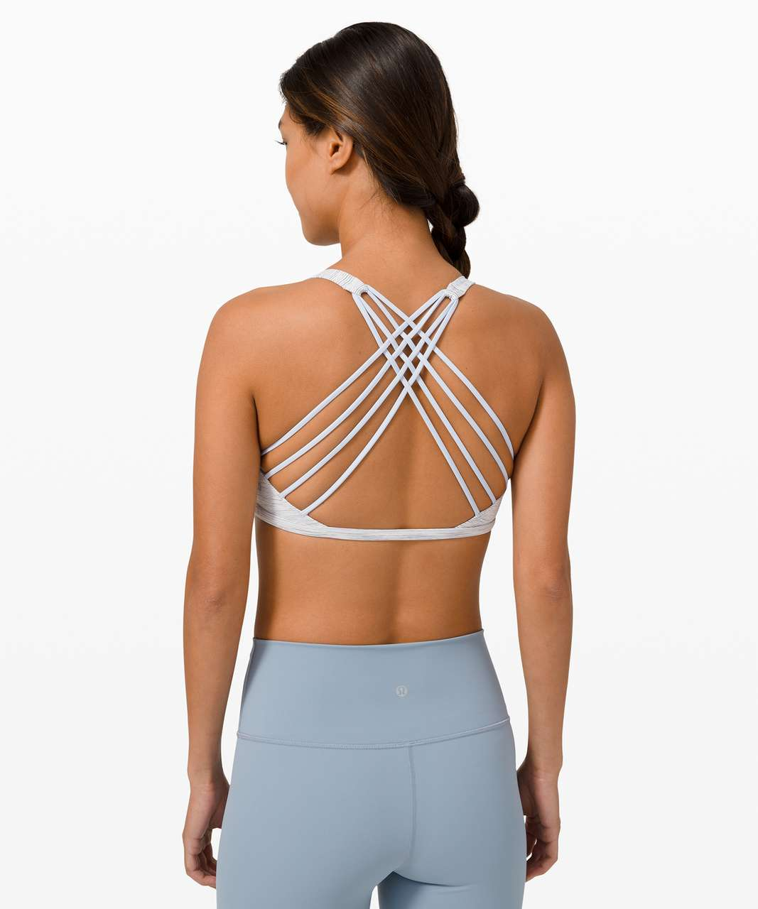 Lululemon Free To Be Bra Wild *Light Support, A/B Cup - Wee Are From Space Nimbus Battleship / Daydream