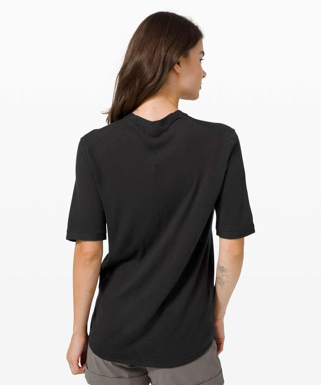 Lululemon Easy Days Short Sleeve - Black