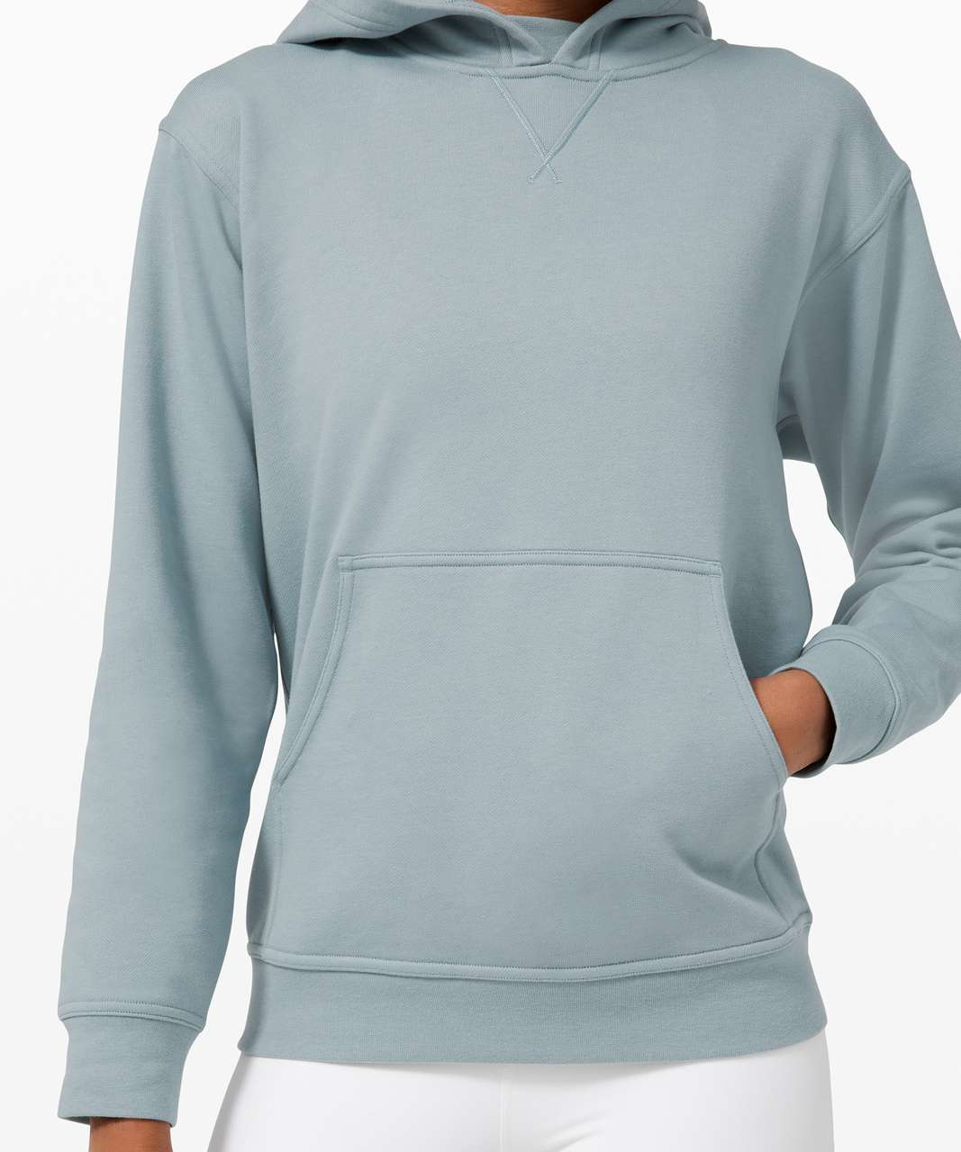 Lululemon All Yours Hoodie *Terry - Blue Cast