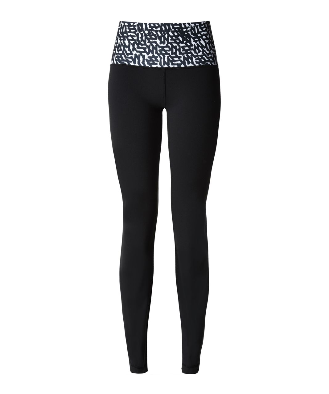 Lululemon Groove Pant II - Black / Net Pop White Black