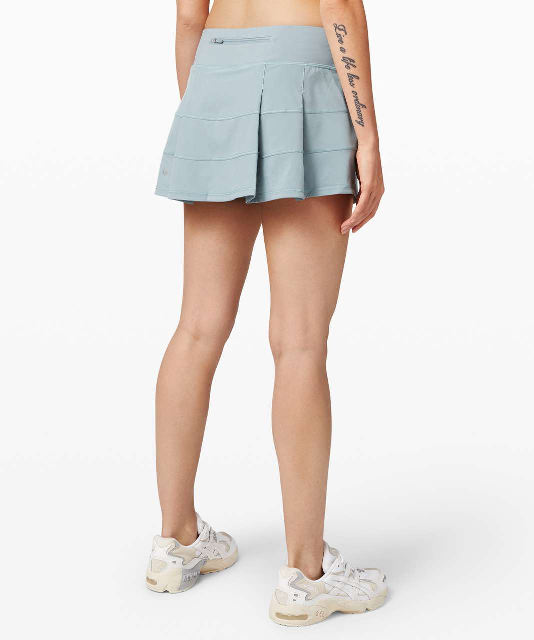 "Lululemon Pace Rival Skirt (Regular) *4-way Stretch 13"" - Blue Cast"