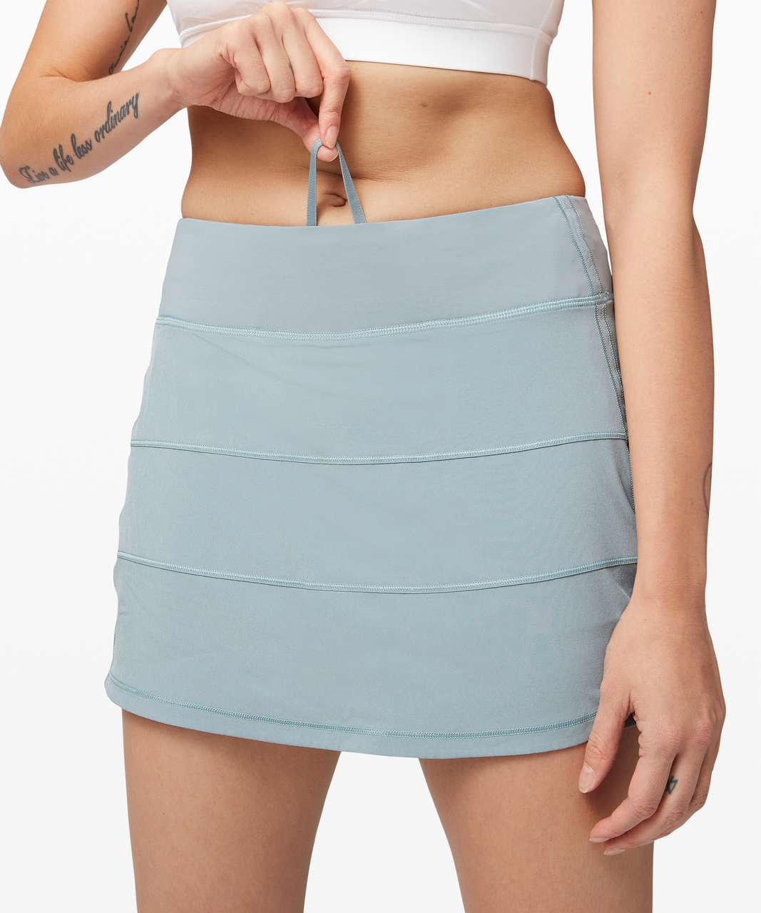 "Lululemon Pace Rival Skirt (Tall) *4-way Stretch 15"" - Blue Cast"
