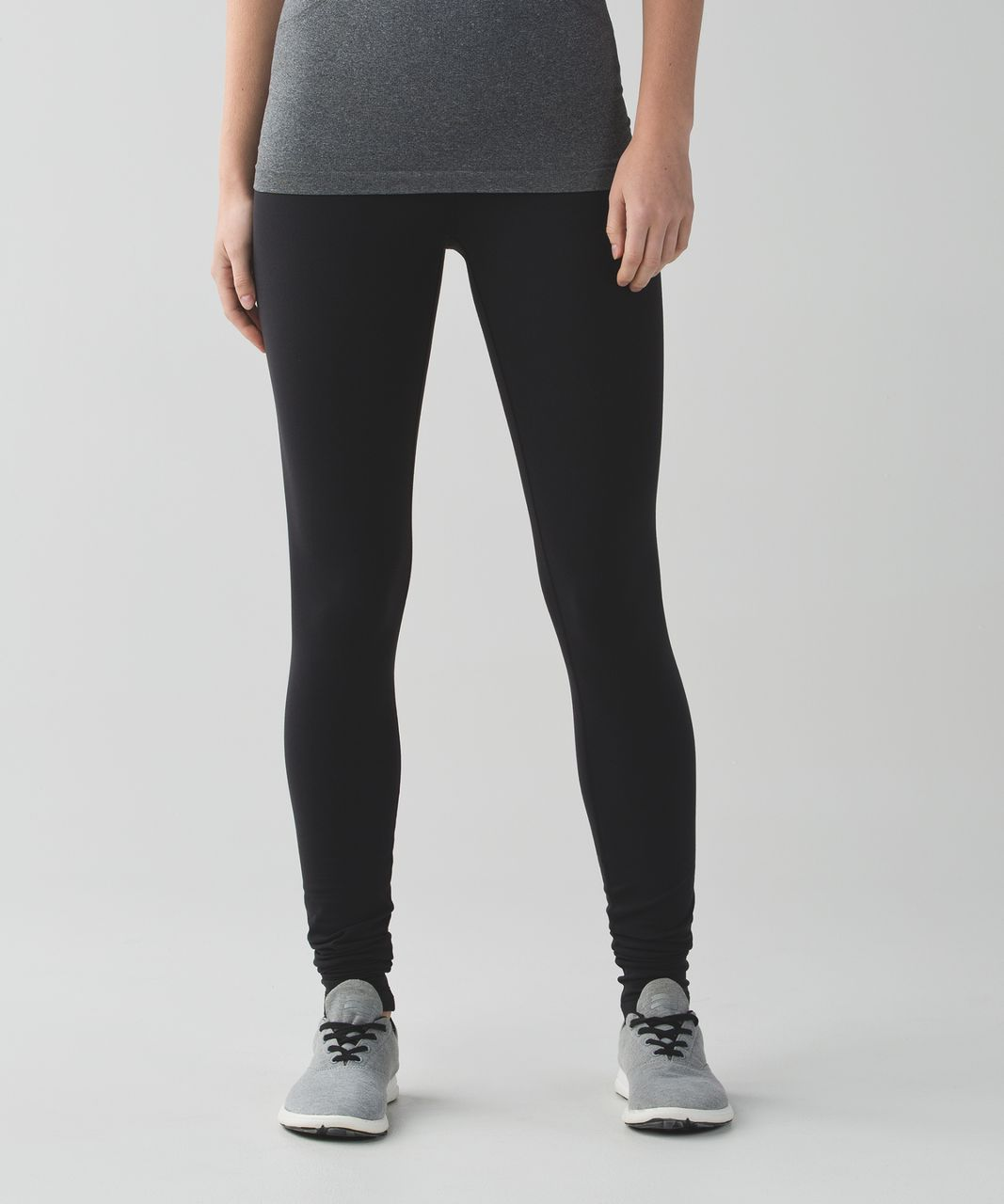Lululemon Wunder Under Pant (Hi-Rise) (Brushed) - Black (First Release)