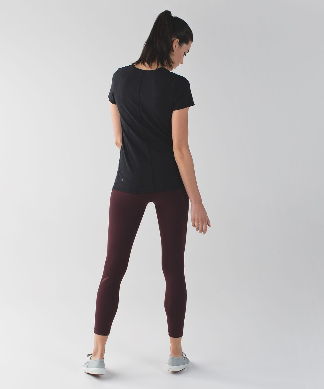 Lululemon High Times Pant (Wrap Mesh) - Bordeaux Drama