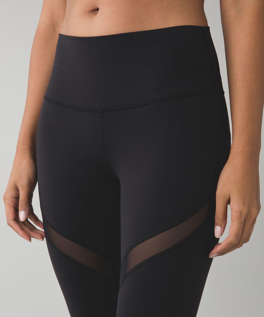Lululemon High Times Pant (Wrap Mesh) - Black