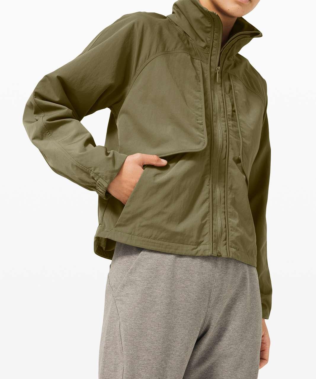 Lululemon Always Effortless Jacket - Medium Olive