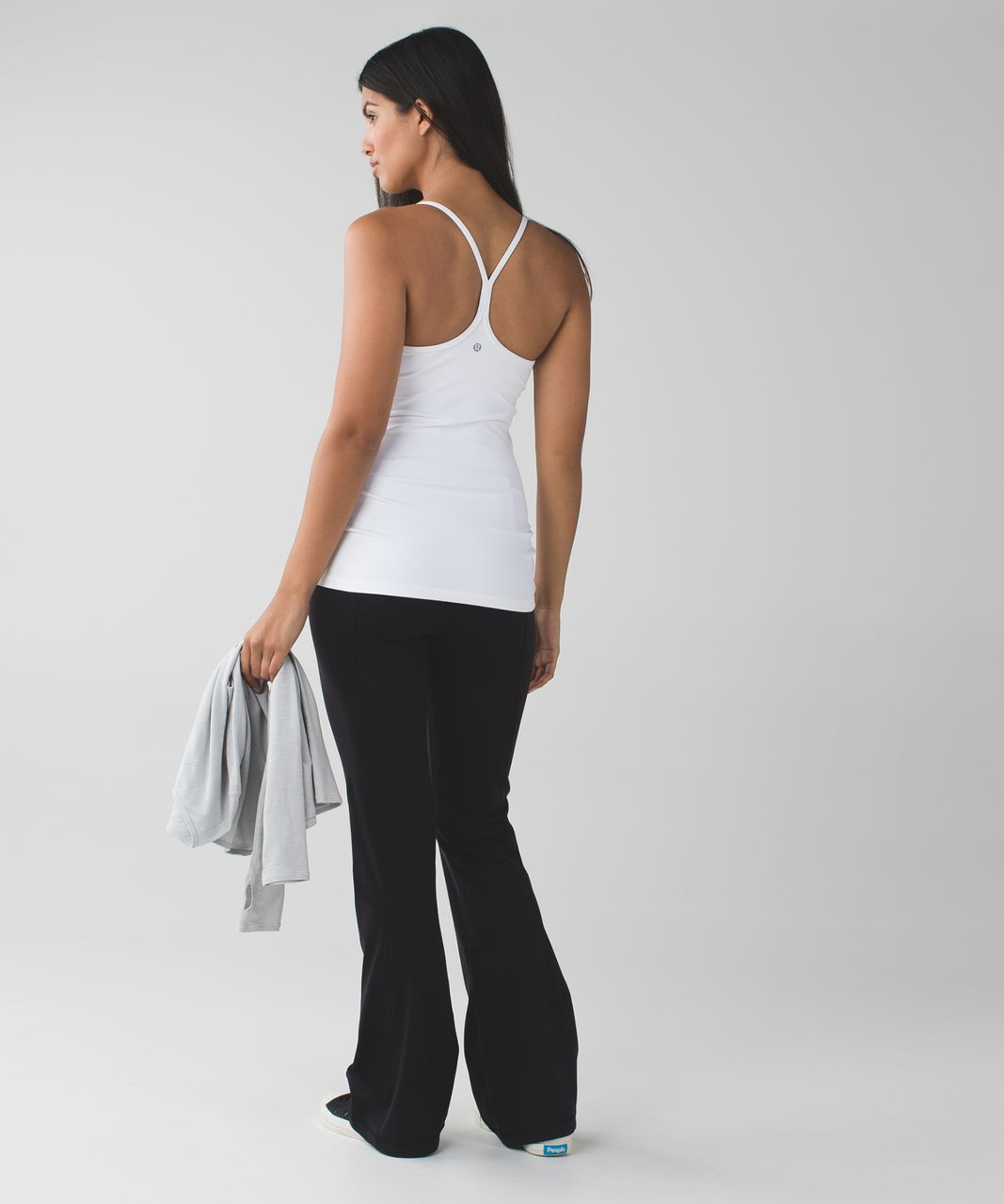 Lululemon Groove Pant III (Regular) - Black / Dramatic Static White Black