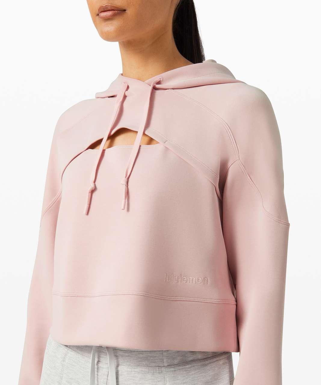 Lululemon Get Centred Crop Hoodie - Misty Pink / Misty Pink