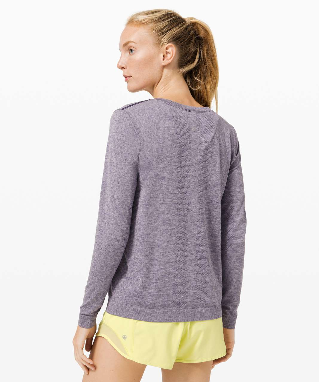 Lululemon Swiftly Relaxed Long Sleeve 2.0 - Midnight Orchid / Iced Iris