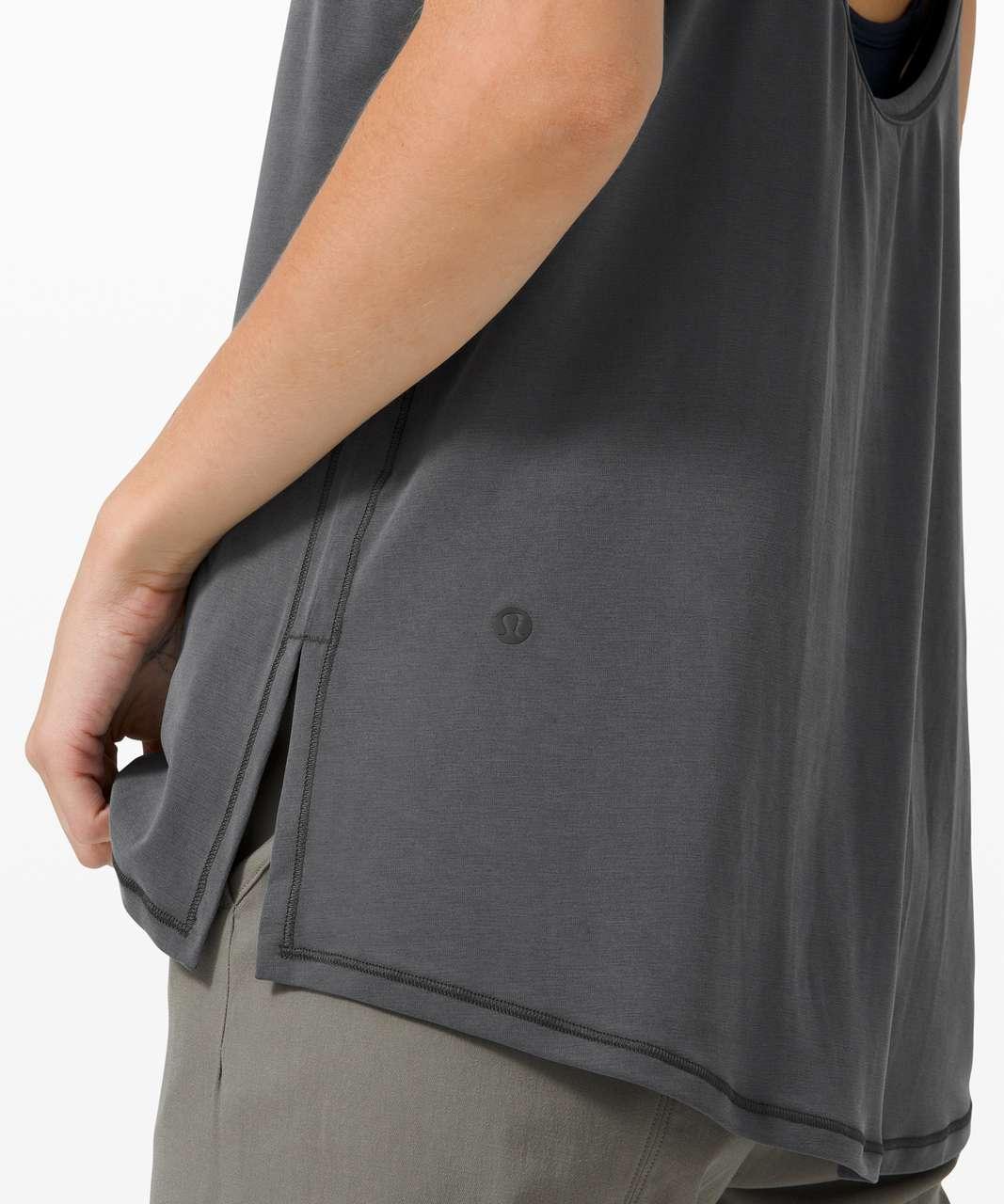 Lululemon Ease of It All Tank - Graphite Grey