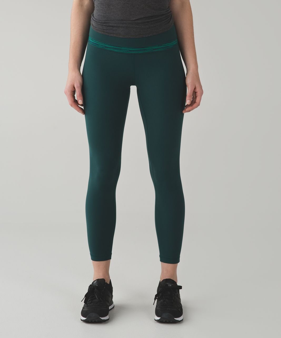 Lululemon Align Pant - Deep Green / Cyber Jungle Hero Blue