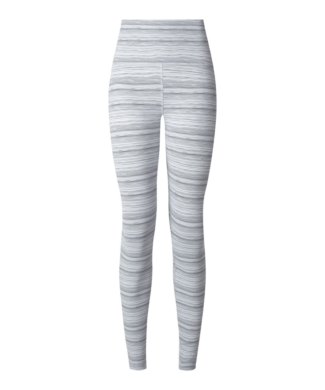 Lululemon High Times Pant - Cyber Stripe White Silver Fox