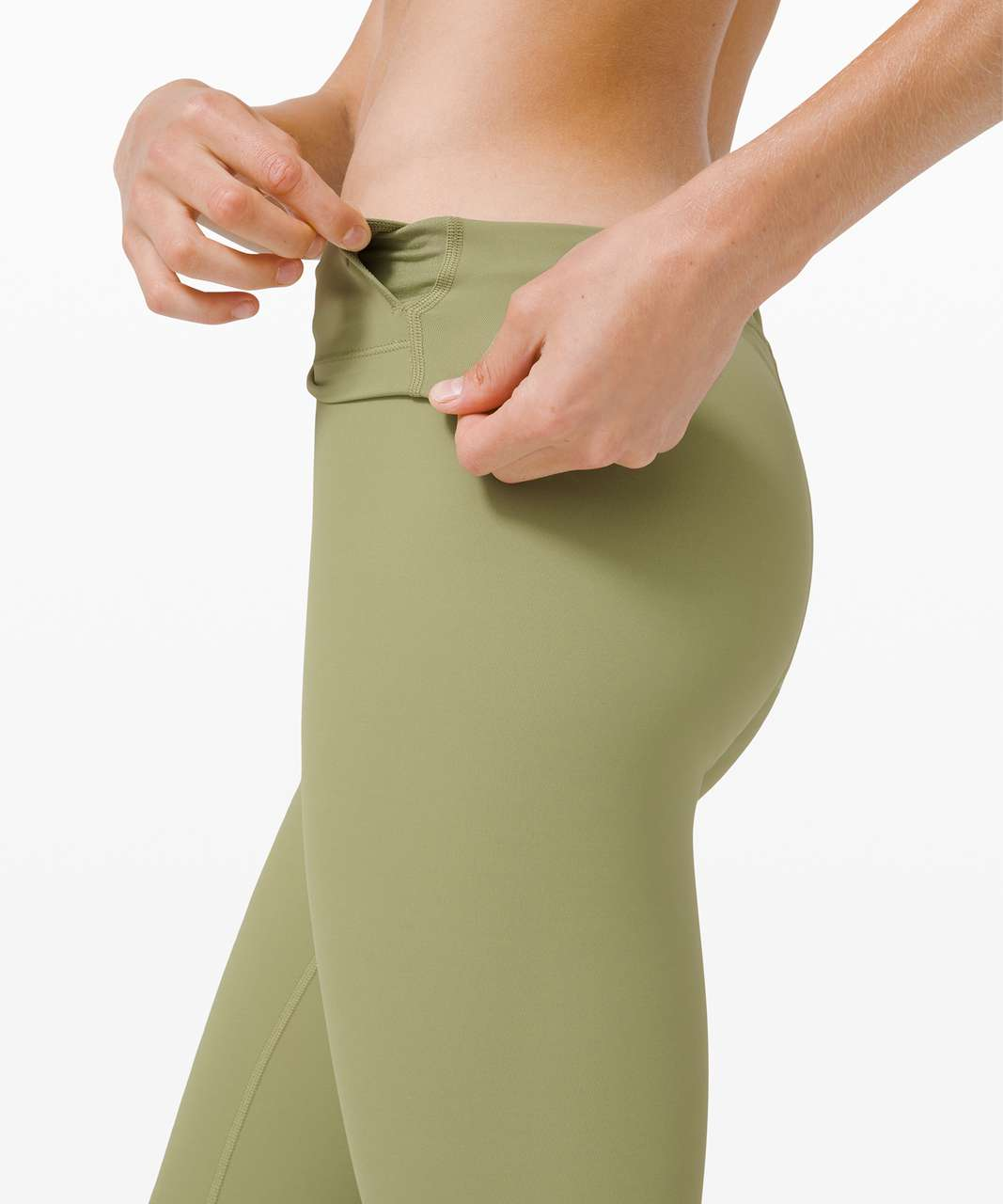 """Lululemon Wunder Under High-Rise Tight 28"""" *Full-On Luxtreme - Vista Green (First Release)"""