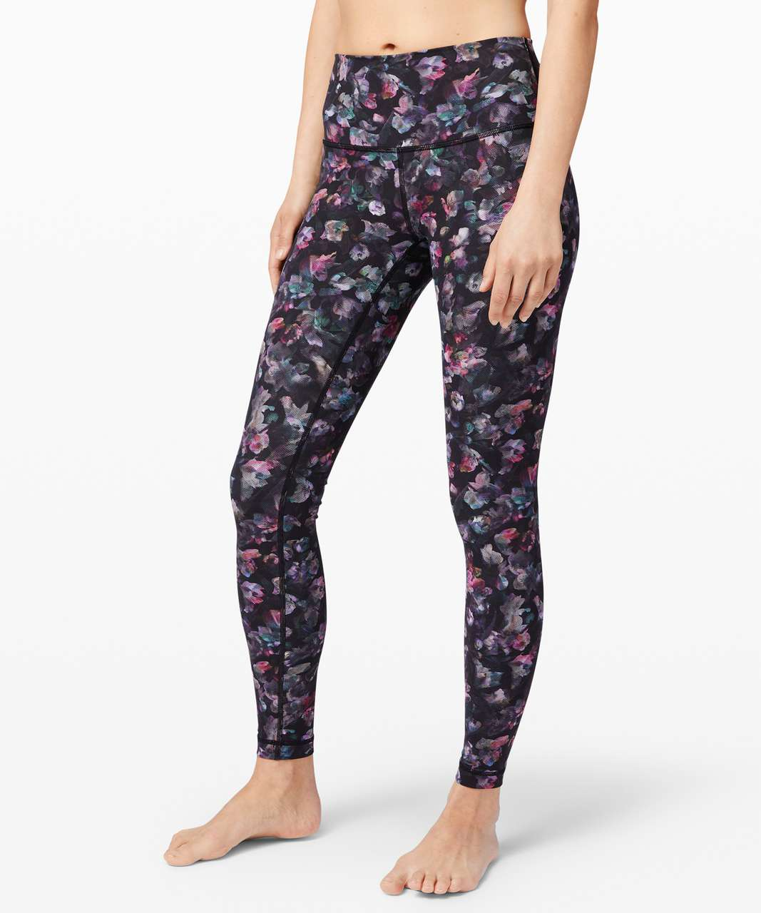 """Lululemon Wunder Under High-Rise Tight 28"""" *Full-On Luxtreme - Activate Floral Multi"""