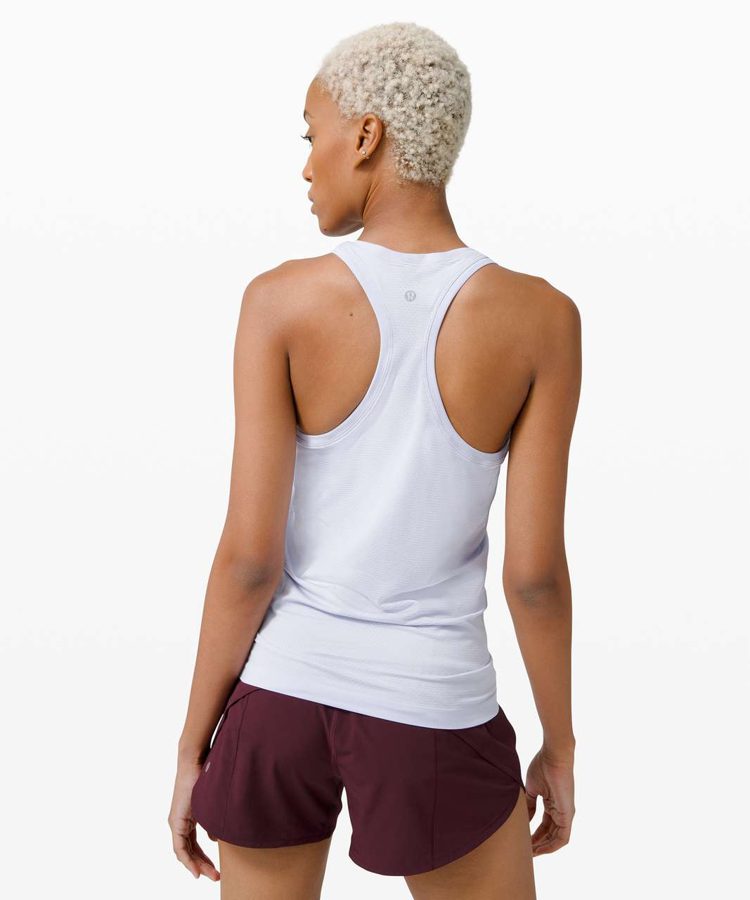 Lululemon Swiftly Tech Racerback 2.0 - Serene Blue / Serene Blue