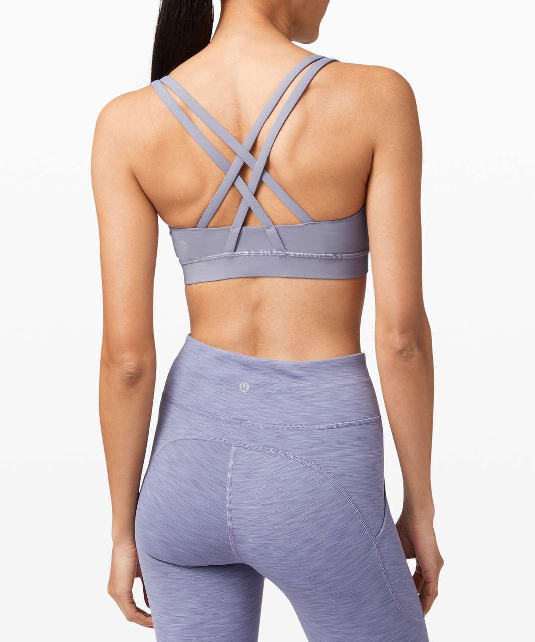 Lululemon Energy Bra *Medium Support, B-D Cup - Peri Purple