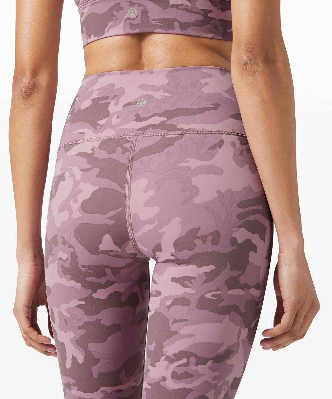"""Lululemon Wunder Under High-Rise Tight 25"""" *Full-On Luxtreme - Incognito Camo Pink Taupe Multi"""