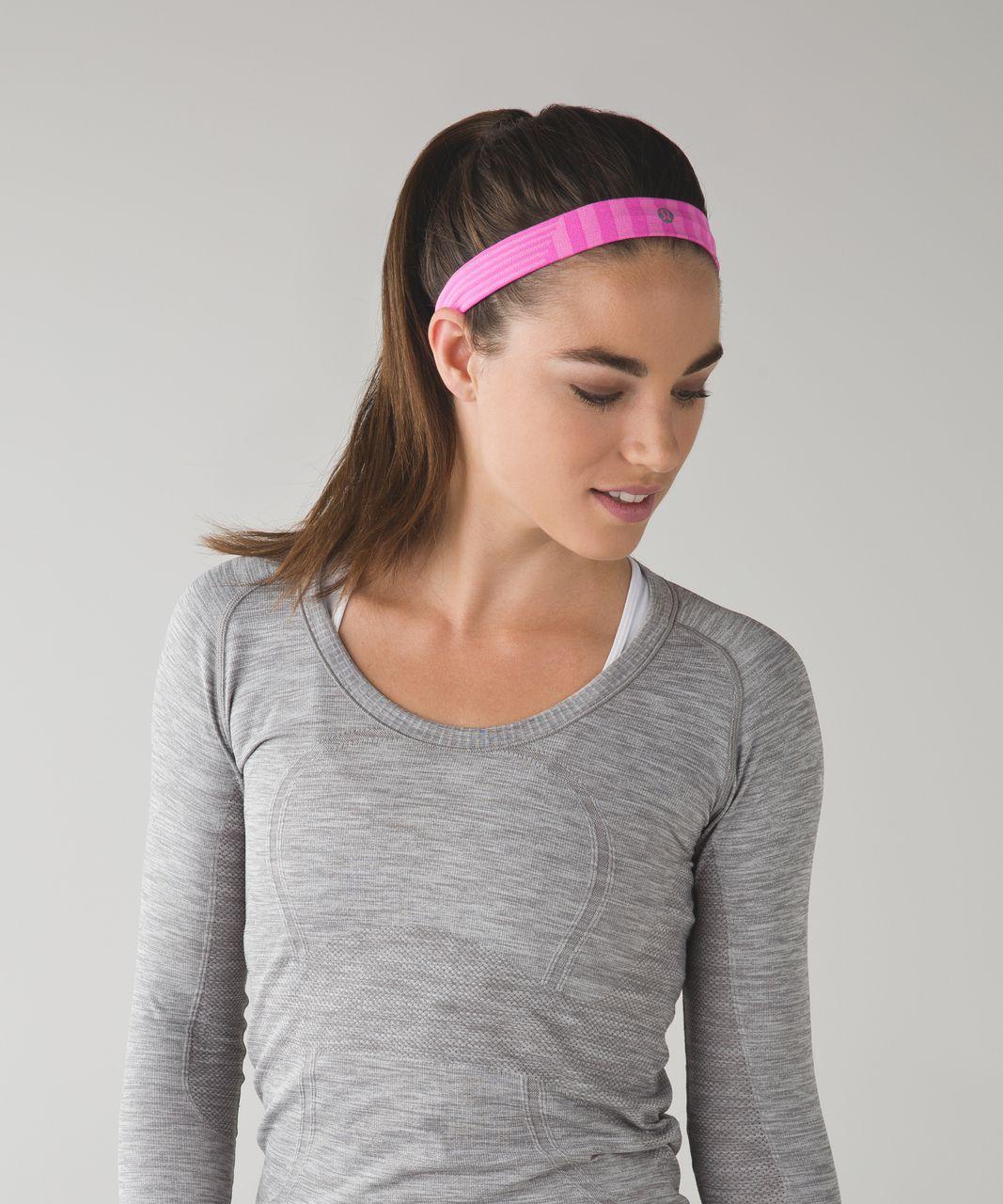 Lululemon Cardio Cross Trainer Headband - Raspberry Glo Light