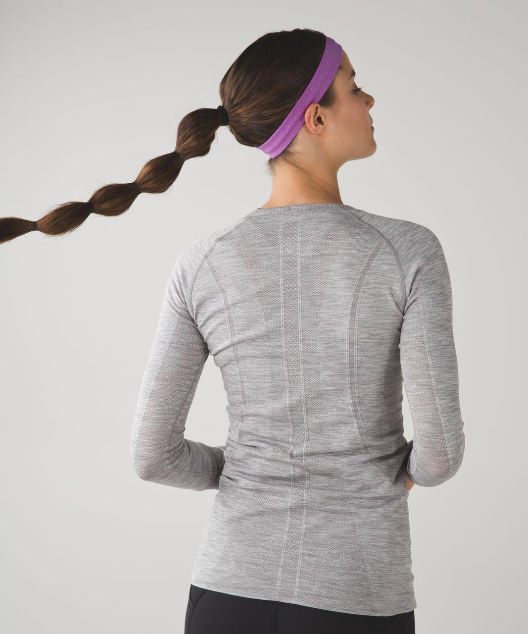 Lululemon Cardio Cross Trainer Headband - Heathered Tender Violet