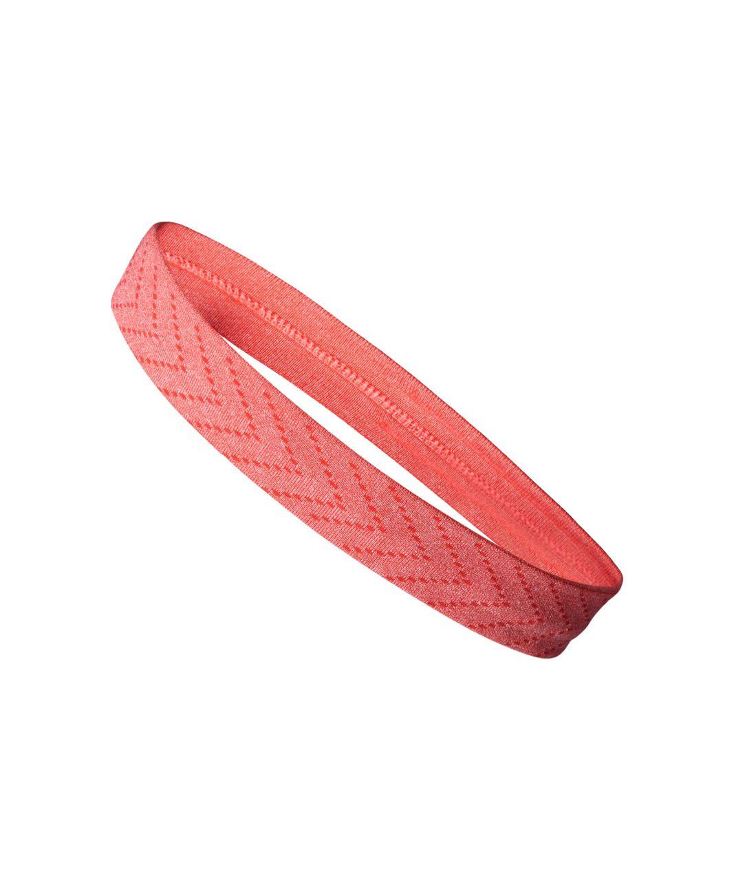 Lululemon Cardio Cross Trainer Headband - Heathered Alarming