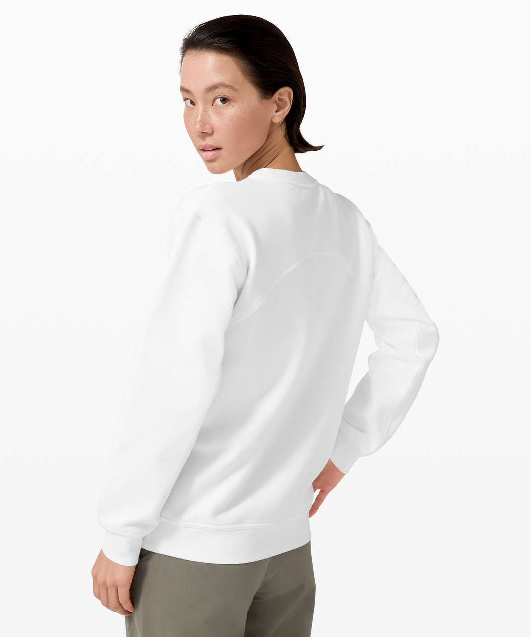 Lululemon All Yours Crew *Graphic - White (First Release)