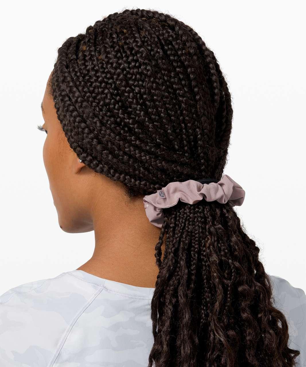 Lululemon Uplifting Scrunchie - Poco Logo Foil Violet Verbena
