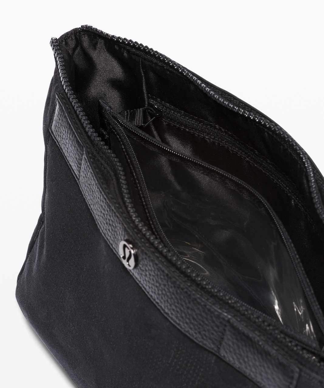 Lululemon Travel Easy Kit *4.5L - Heritage Grid Camo Jacquard Micro Black Deep Coal