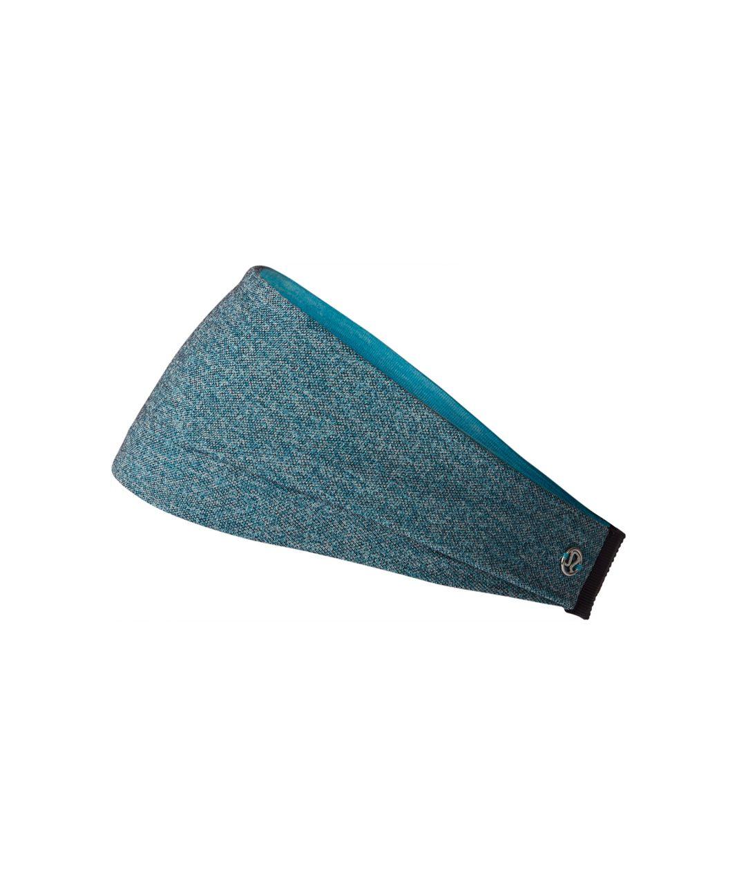 Lululemon Fringe Fighter Headband - 3 Colour Heather Peacock Blue Multi / Heathered Peacock Blue