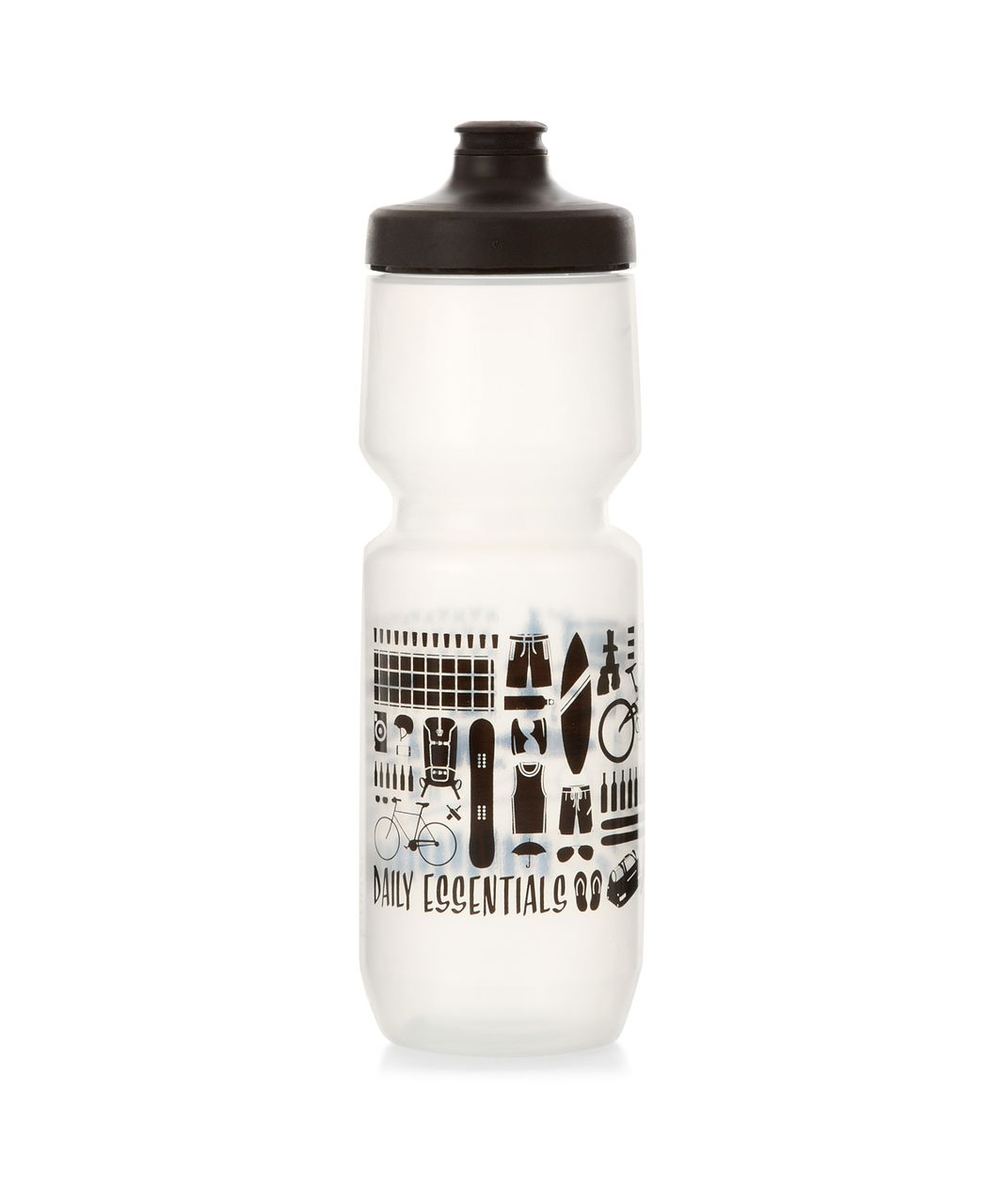 Lululemon Purist Cycling Water Bottle *26 oz - Daily Essentials Greyt Black