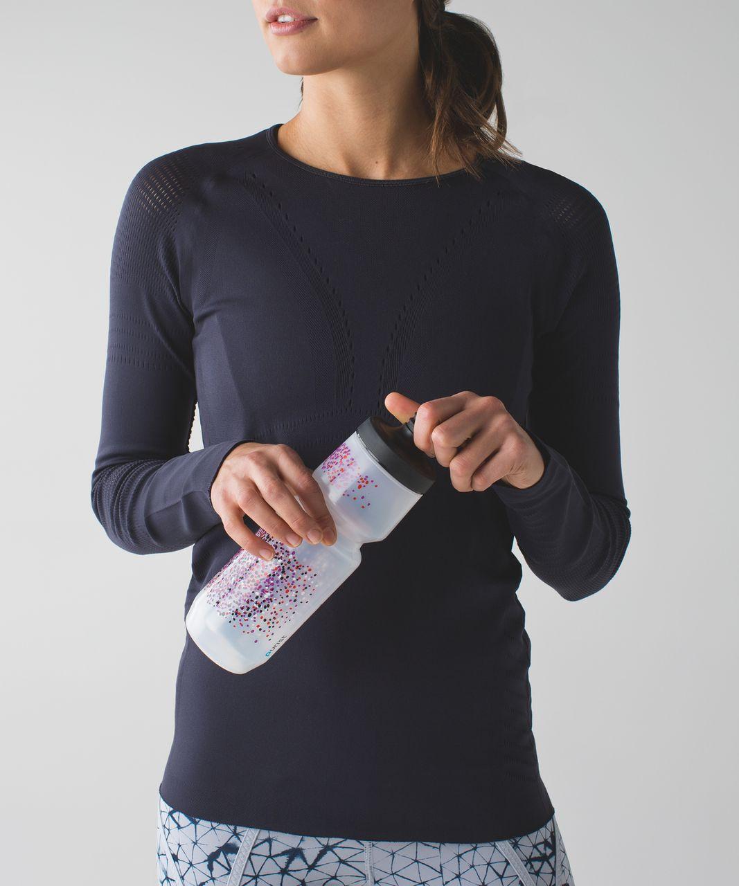 Lululemon Purist Cycling Water Bottle *26 oz - Dotted Speckle Ultra Violet Alarming