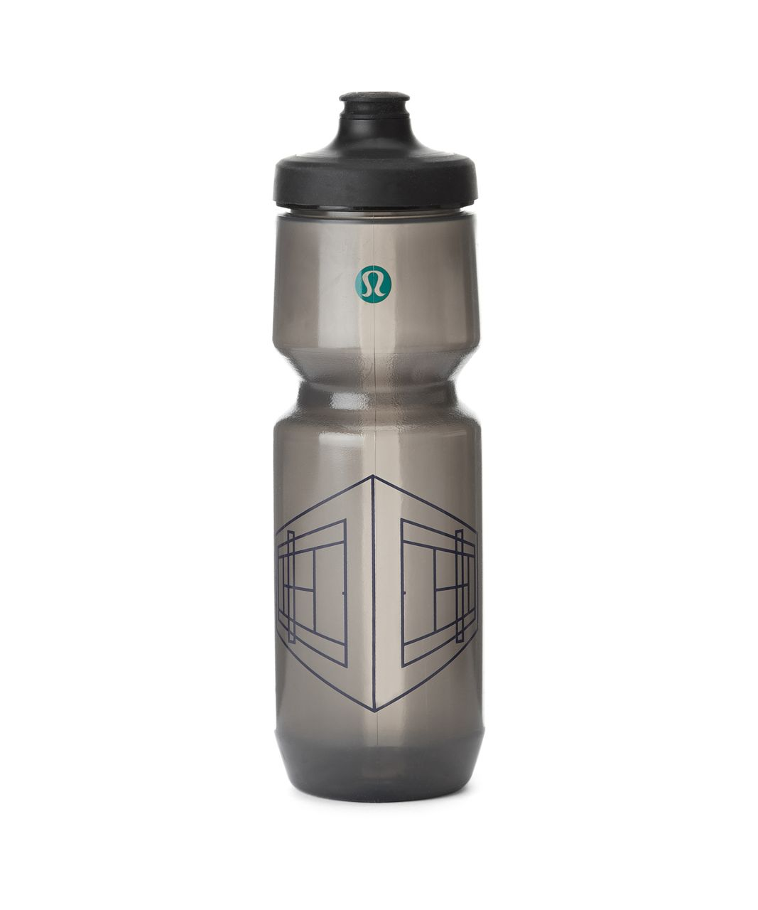 Lululemon Purist Cycling Water Bottle *26 oz - Doubles Game Harbor Blue Hunter Green