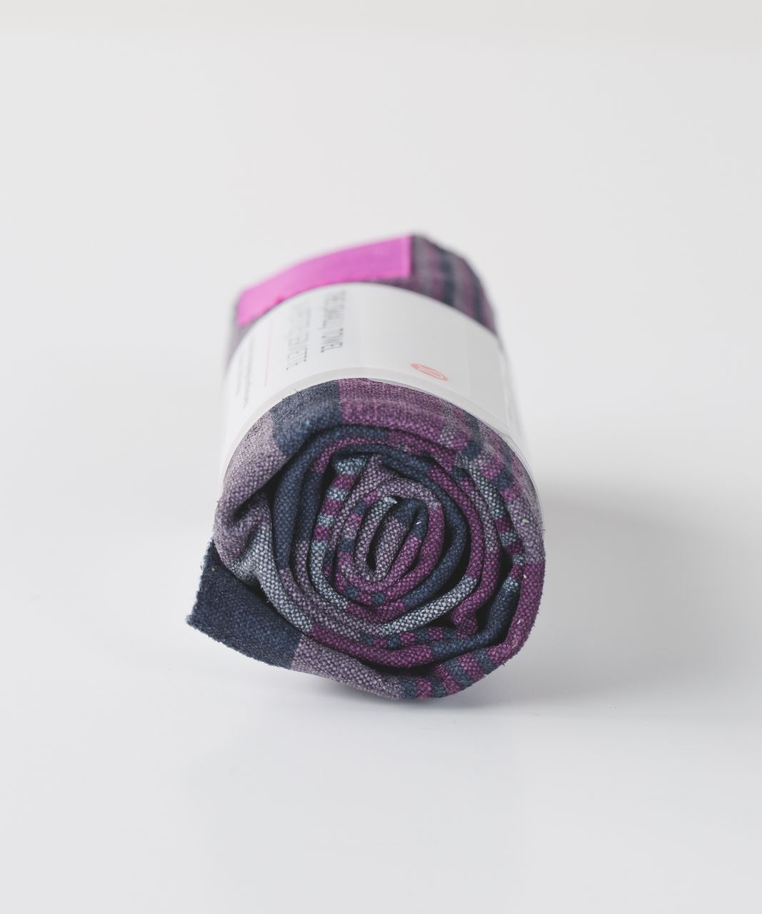 Lululemon The (Small) Towel - Giant Blanket Stripe Printed Regal Plum Mellow Magenta