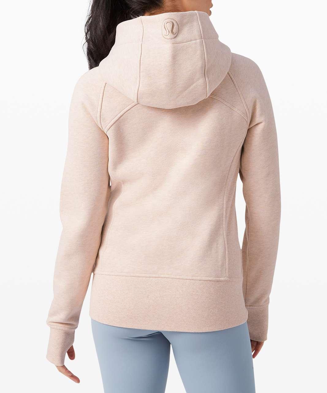 Lululemon Scuba Hoodie *Light Cotton Fleece - Heathered Misty Pink