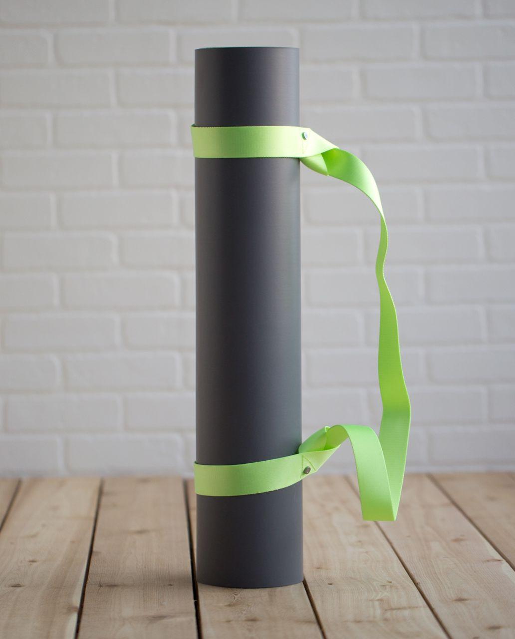 Lululemon Loop It Up Mat Strap - Clear Mint