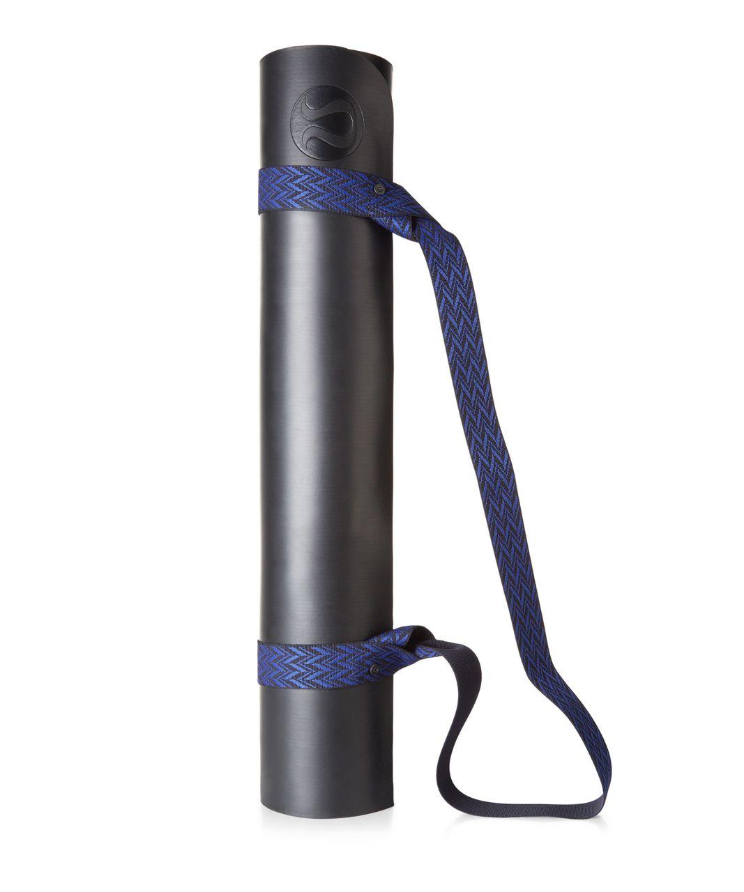 Lululemon Loop It Up Mat Strap - Naval Blue / Sapphire Blue