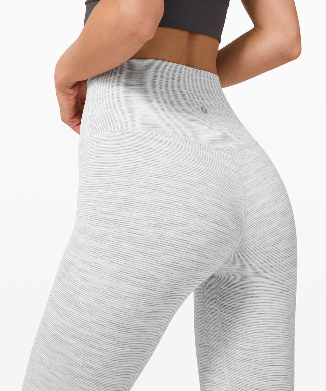 "Lululemon Align Pant II 25"" - Wee Are From Space Nimbus Battleship"