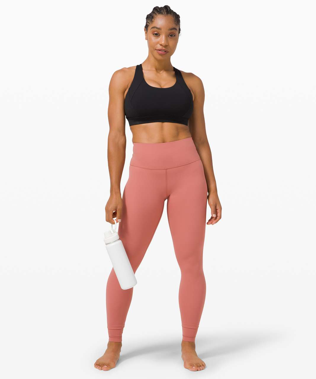 "Lululemon Wunder Under High-Rise Tight 28"" *Full-On Luxtreme - Brier Rose"