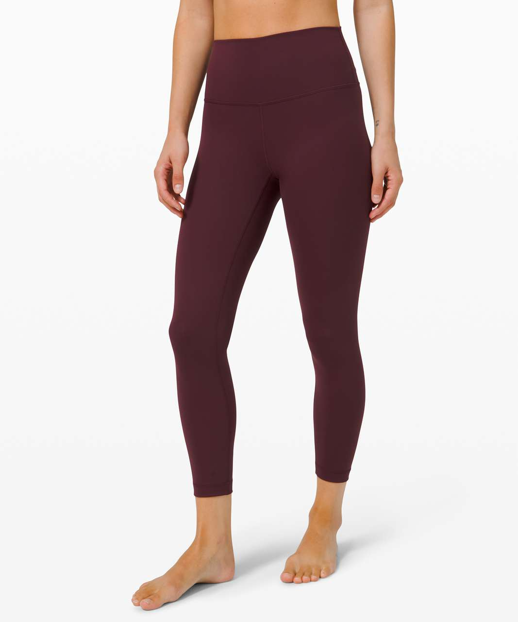"""Lululemon Wunder Under High-Rise Tight 25"""" *Full-On Luxtreme - Cassis (First Release)"""