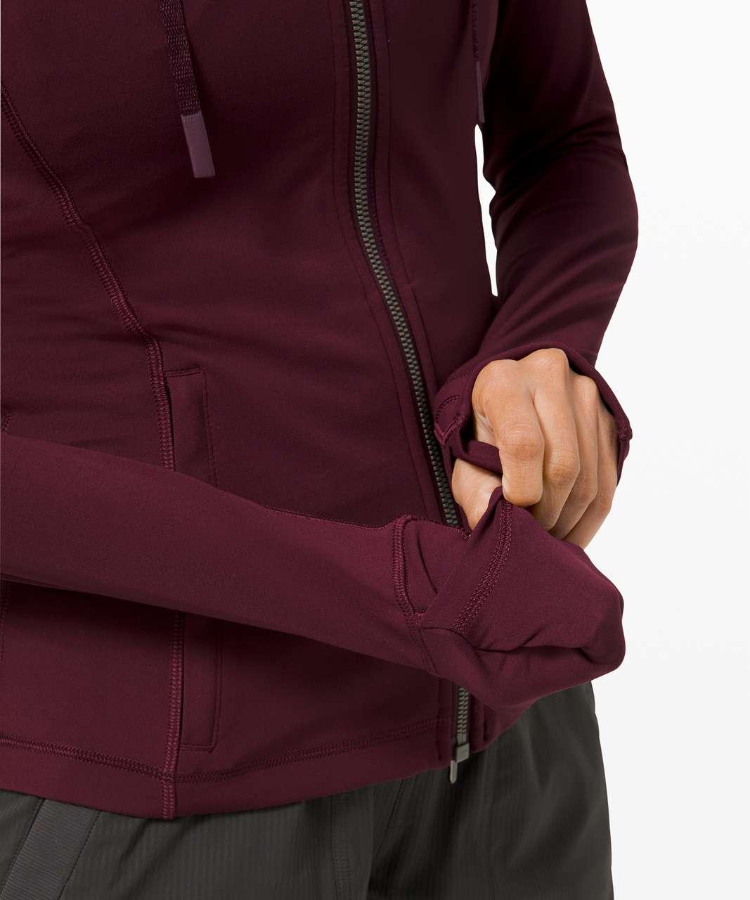 Lululemon Hooded Define Jacket *Nulu - Cassis (First Release)