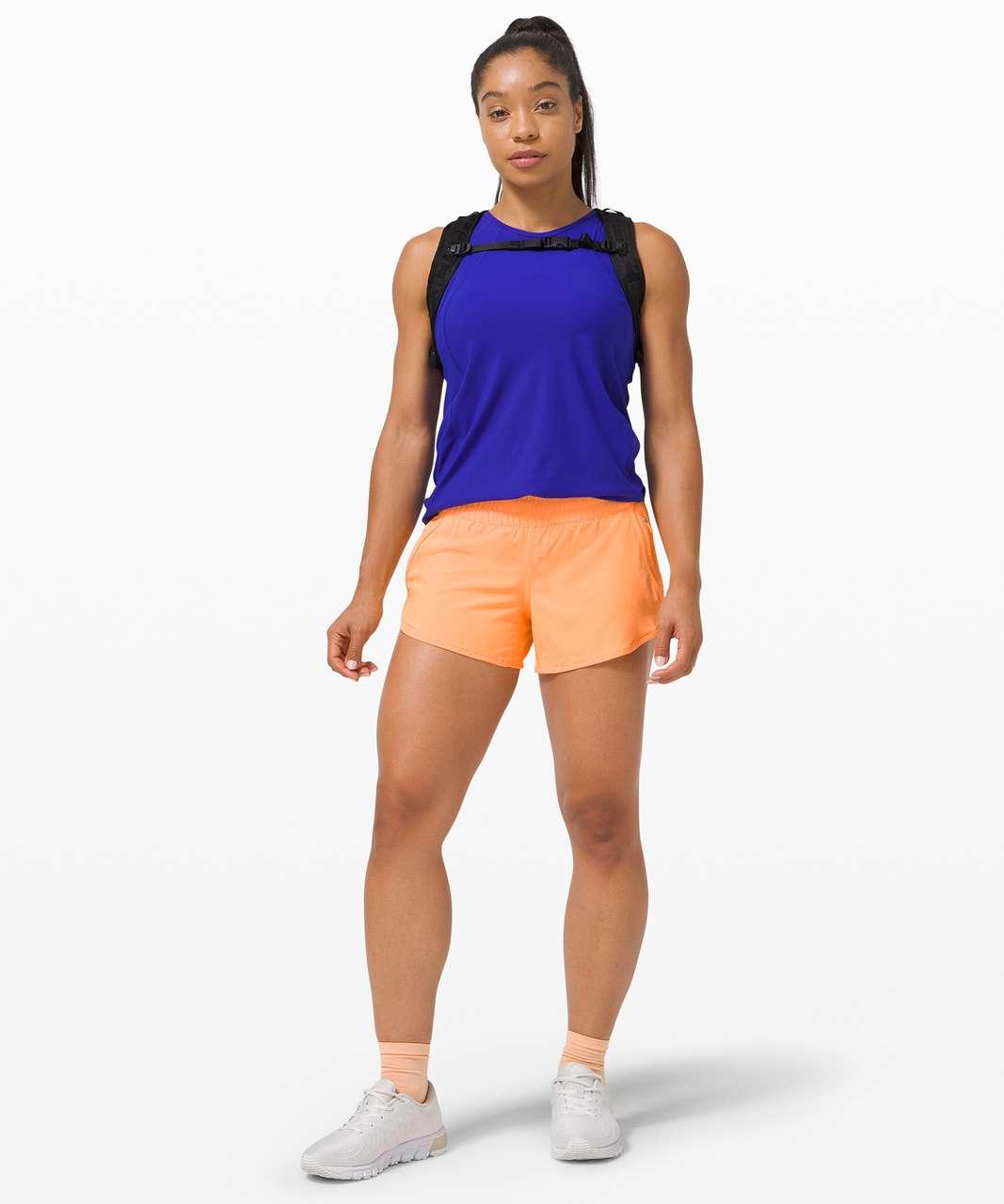 Lululemon Tracker Short V *SeaWheeze - Florid Orange