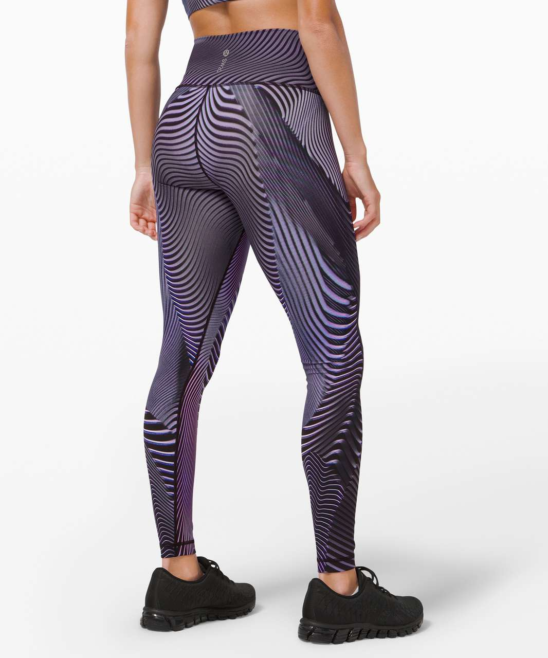 "Lululemon Wunder Under High-Rise Tight 25"" *SeaWheeze - Fast Lane Purple Multi"