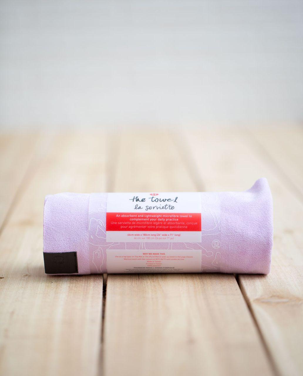 Lululemon The Towel - Pretty Purple