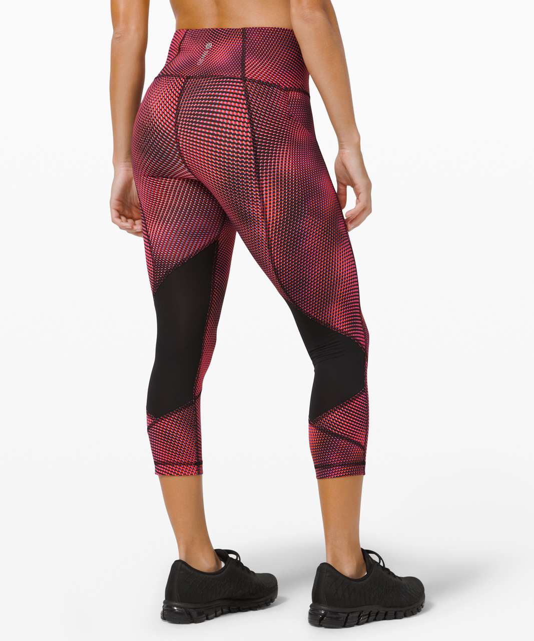 "Lululemon Pace Rival High-Rise Crop 22"" *SeaWheeze - Race Pace Flare Multi"